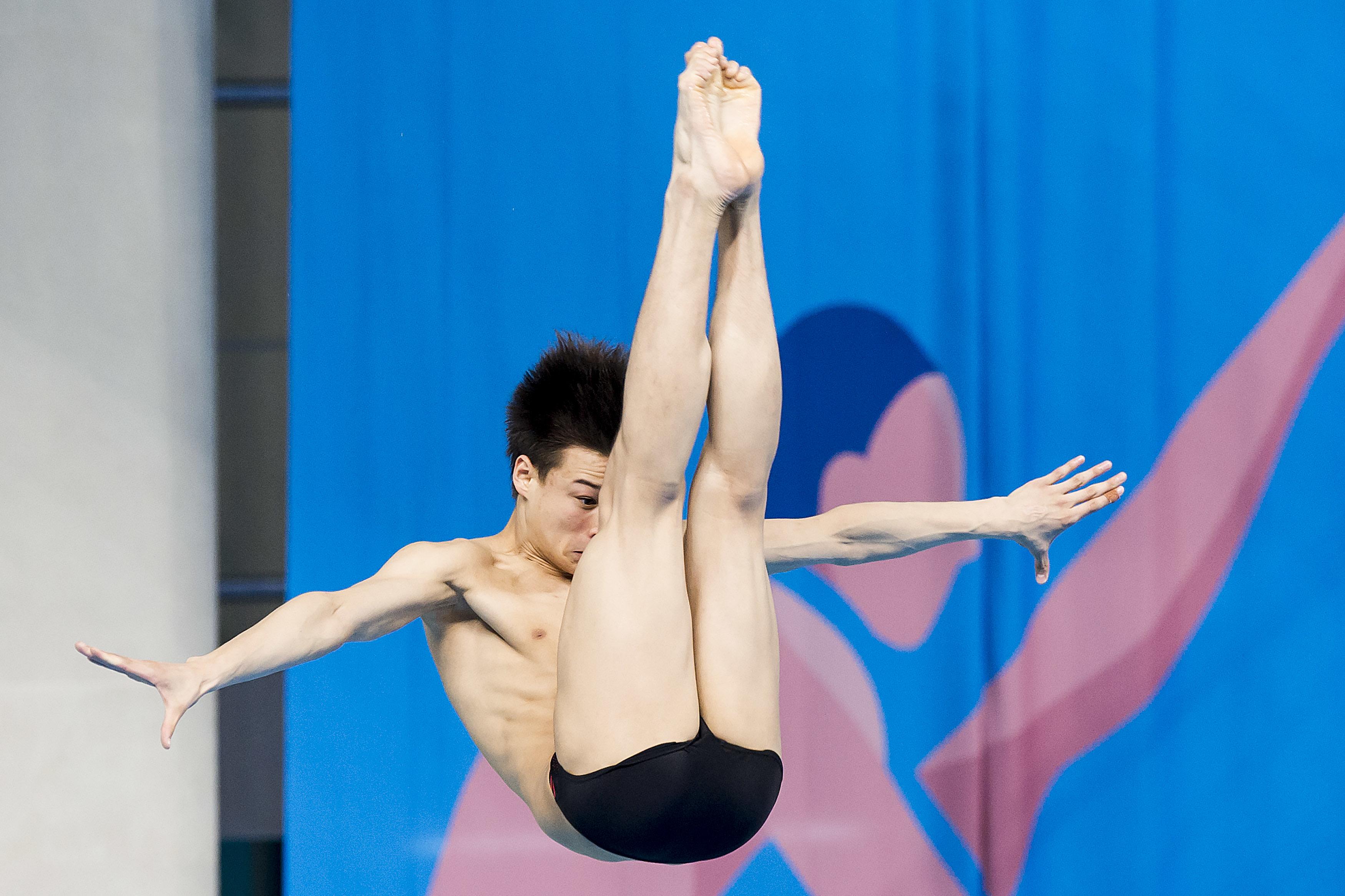 SUCKOW Jonathan SUI 3M_Springboard Heats Diving 1st European Olympic Games  Baku Azerbaijan 12-28/08/2015 Photo Andrea Masini/Deepbluemedia/Insidefoto